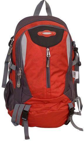 Tosca - 32L Framed Sport Hiking Backpack (Red/Grey)