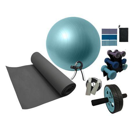 Volkano - Active Home Gym Kit 7-Piece Set