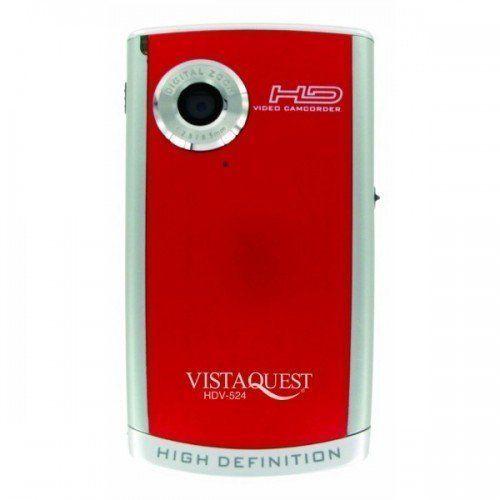 Vistaquest - HDV-524 Pocket Video Camera Red 5MP