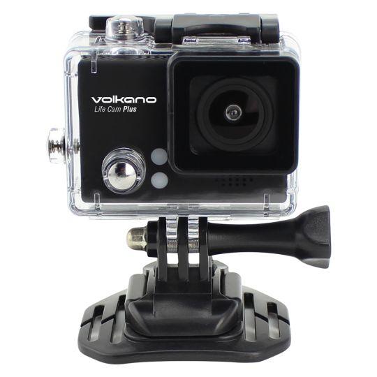Volkano - Lifecam Plus series 720p action camera - Black