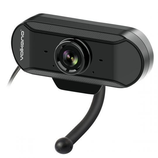 Volkano- USB Webcam with Built-In Microphone and noise reduction