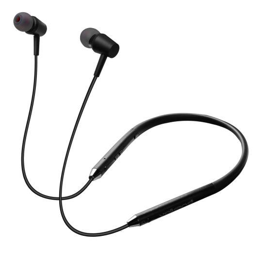 VolkanoX  - N02 Asista Series Voice Assisted Bluetooth Earphones - Black