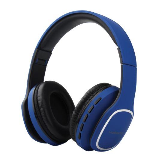 Volkano - Phonic Series Bluetooth Headphones - Blue