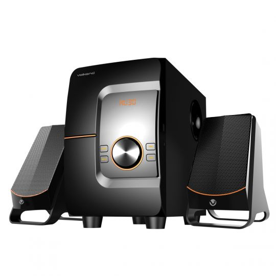 VolkanoX - Comet series 2.1 speaker - black with USB/Micro SD and Bluetooth