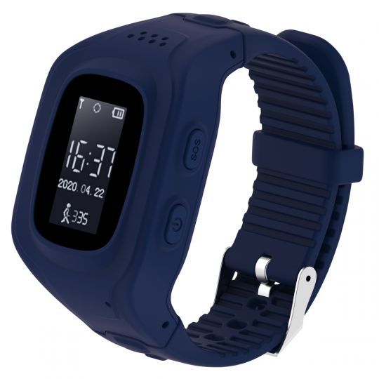 Volkano - Find Me Series GPS Tracking kids watch - Blue