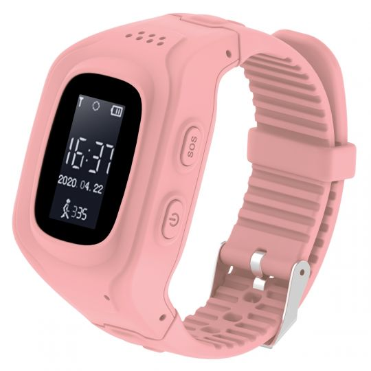 Volkano - Find Me Series GPS Tracking kids watch - Pink