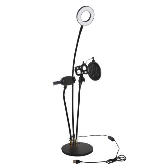 Volkano - Insta series Ring light Desk Stand Vlogging Kit