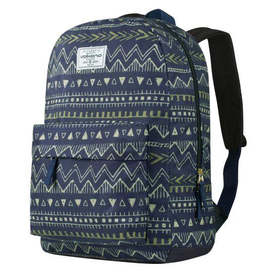 Volkano - Diva Series Backpacks - Navy Aztec