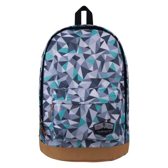Volkano - Suede Series Backpack Geo - Grey