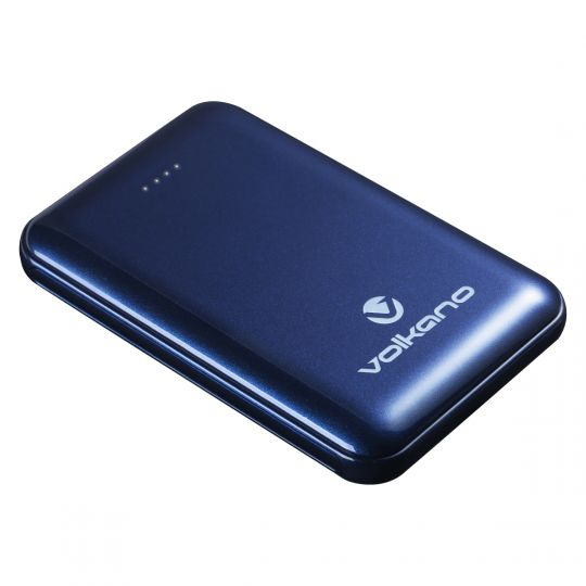 Volkano -Nano Series 5000 mAh Li-Po Powerbank - Blue