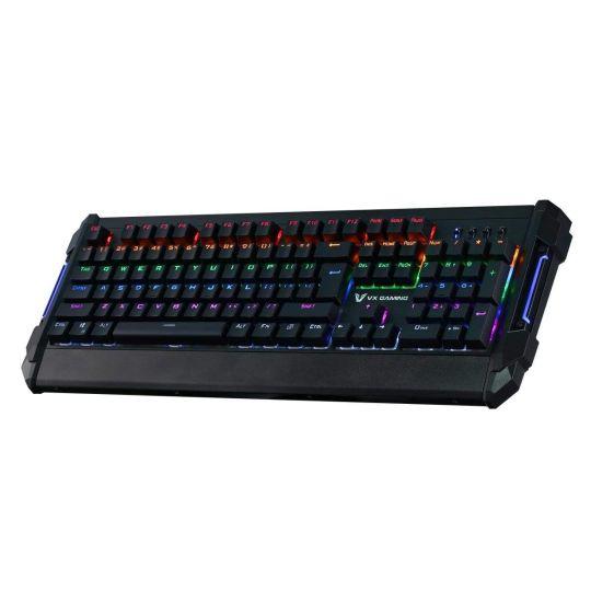 VX Gaming - Reinforce Series Mechanical Rainbow Lighting Keyboard