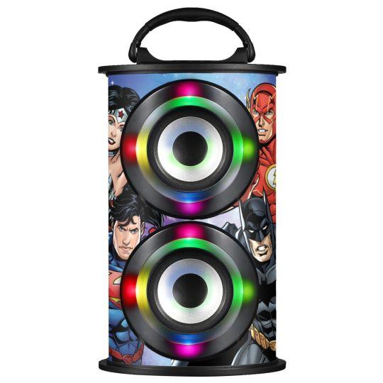 Warner Brothers - Warner Barrel Bluetooth Speaker Justice League