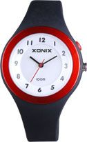 Xonix - Wn-007 Ladies Analogue Black/Red