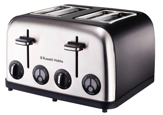 Russell Hobbs - 13976 4 Slice Toaster Matt Black