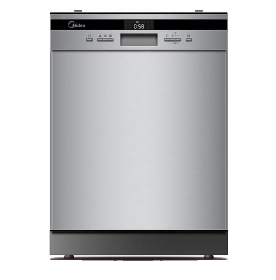 Midea - Deluxe 14 Place Dishwasher Stainless