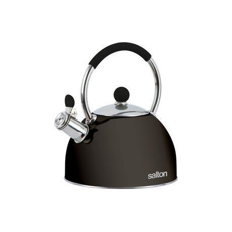 Salton - SSTK2.5 Whisltling Stove Top Kettle Black