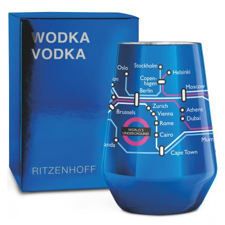 Ritzenhoff - Next Vodka Glass  O.Hartmann