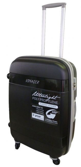 Elegant - 50cm Global Spinner Cabin Case (Black)
