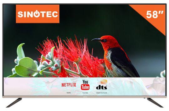 Sinotec - 58inch Ultra HD Netflix LED TV
