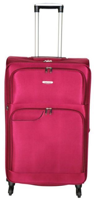 Tosca - 50cm Gold Ultralight Trolley Case (Red)