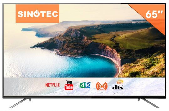 Sinotec - 65 Inch Ultra HD Netflix LED TV