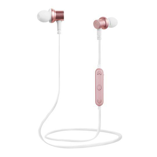 Amplify  - Blues Bluetooth Earphones - White/Rose Gold