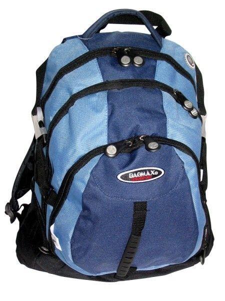 Bagmax - Large 3 Division Backpack (Blue)