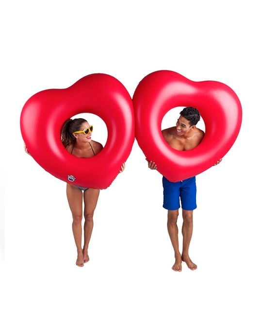 BigMouth - Two Hearts Pool Float