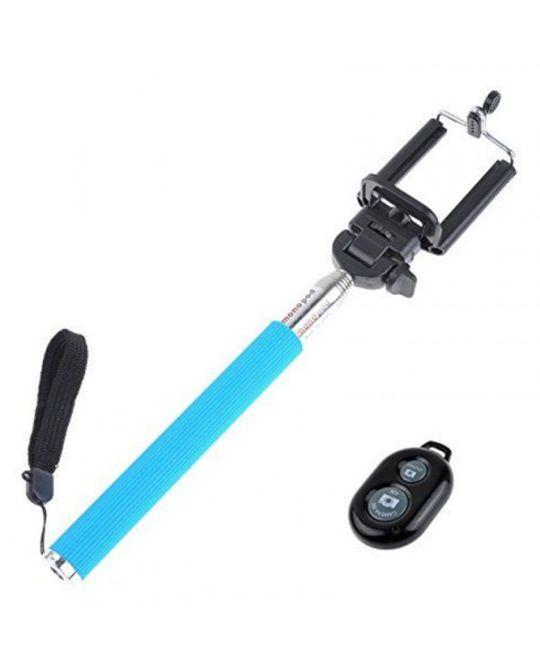 Bounce - Pose Series Bluetooth Selfie Stick (Blue)