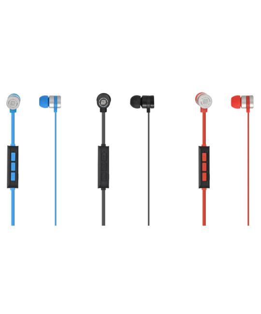 Bounce - Salsa Series Bluetooth Wireless Earphones (Red/Black)