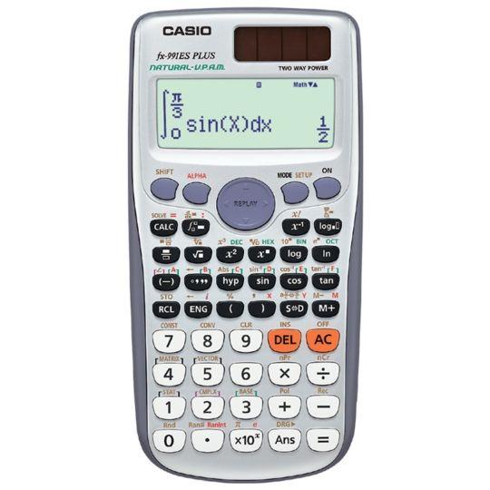 Casio - FX-991 ZA Plus II Scientific Calculator