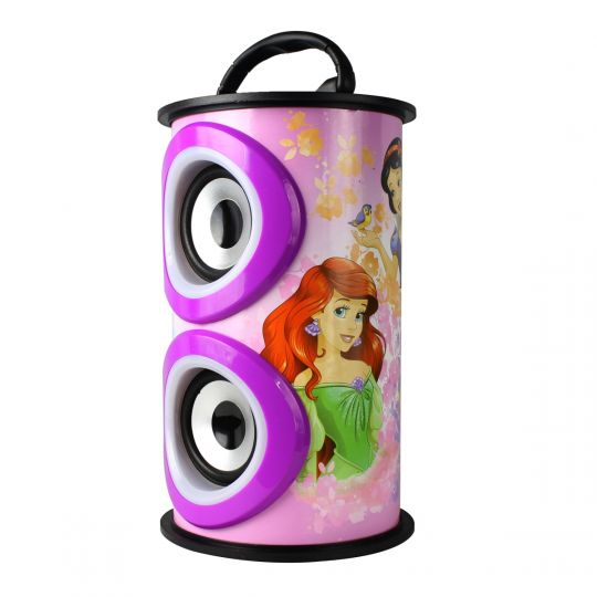 Disney - Disney Barrel Bluetooth Speaker Princesses