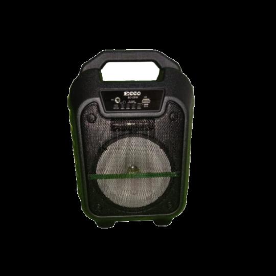 ECCO - 6.5 Inch Portable Speaker Black