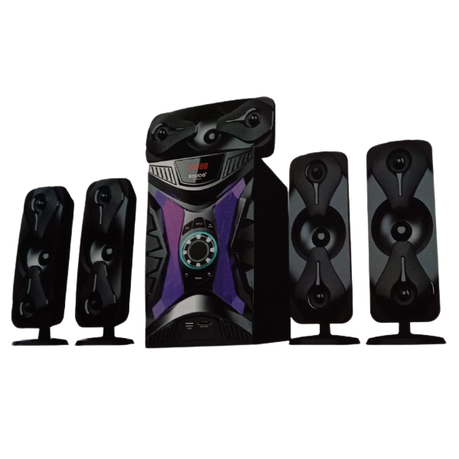 Ecco - MV8001 ECCO 5.1 Home Theatre Speaker