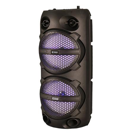 "Ecco - MV88M6 ECCO Dual 6.5"" Rechargeable Portable Party Speaker"