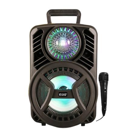 "Ecco - MV88M9 ECCO 8"" Rechargeable Portable Party Speaker"