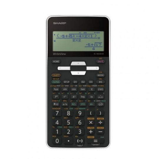 Sharp - EL535 Scientific Calculator (White)