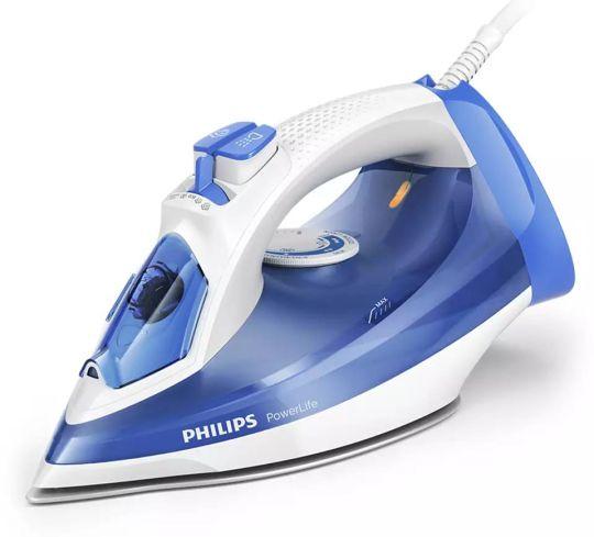 Philips - Powerlife Plus Steam Iron -Sg - 2300w Royal Blue