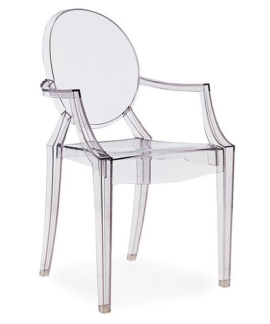 Mad Chair - Replica Ghost Armchair - Clear