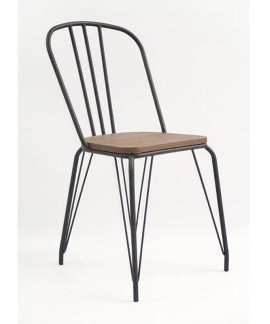 Mad Chair - Replica Hairpin Chair - Black