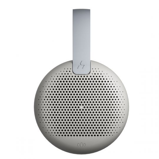 HAKII - MARS Portable Wireless Smart Bluetooth Speaker - Light Grey