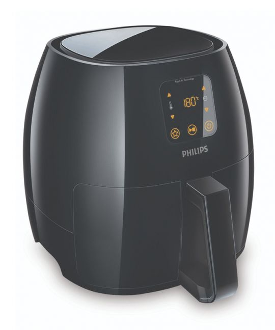 Philips - Avance Collection Airfryer (Black)