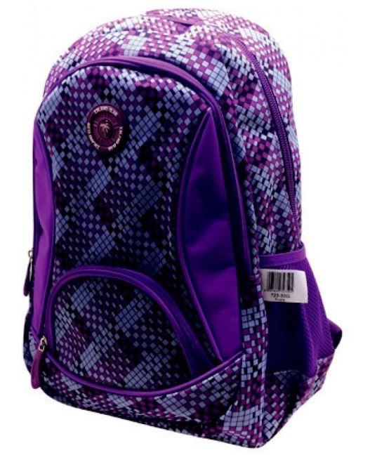 Island Club - Large 600D Backpack (Purple)
