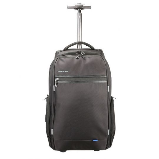 Kingsons - Smart Series USB Backpack Trolley Bag With USB Charging Port