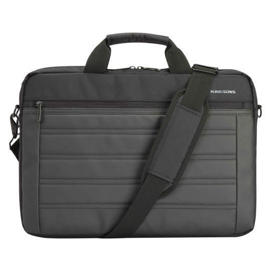 """Kingsons - 15.6"""" Black shoulder bag Legacy series"""