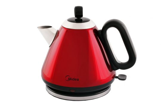 Midea - Teapot Style Cordless Kettle 1,7L - Red