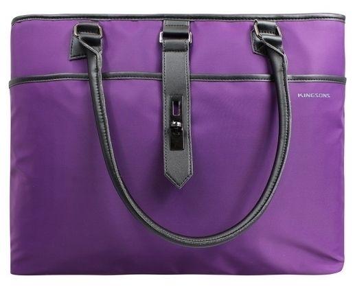 Kingsons - 15.6inch Bella Series Ladies Bag (Purple)