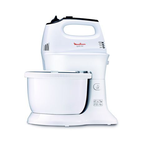 Moulinex -Quick Mix Hand Mixer with Plastic Bowl, 300W