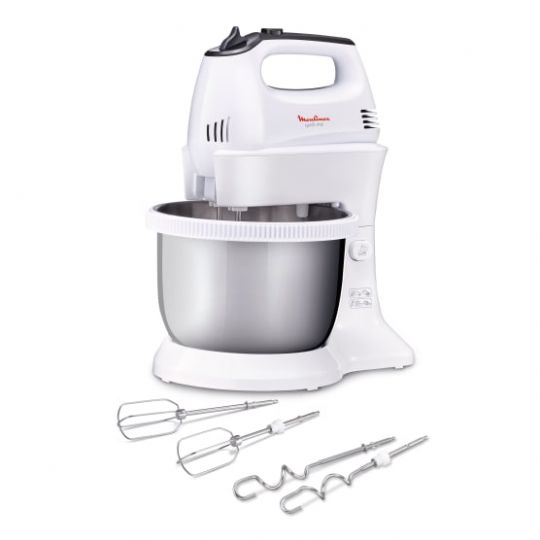 Moulinex -Quick Mix Hand Mixer with SS Bowl, 300W