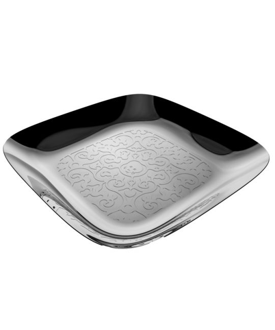 Alessi- Marcel Wanders S/S Square Tray 34cm